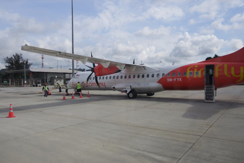 ATR72-500 on Tarmac